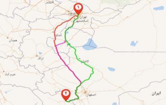 باربری تهران شهرکرد چهارمحال و بختیاری تا70% تخفیف زیر شرکت های باربری